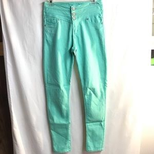 Mint high waisted skinny jeans